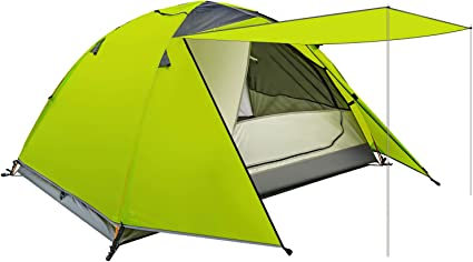 Large Ultralight inflatable Camping Tent 2 Person Backpacking Hiking Tent New