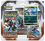Pokemon Tcg Sun & Moon Burning Shadows Three-Booster Blister Card Game