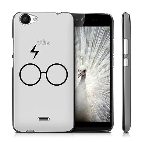 Funda Wiko Rainbow Jam 3G Gafas Mariposas Suave TPU Silicona ...
