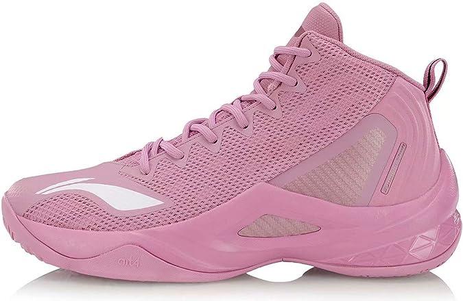 LI-NING Wade ABPP037 - Zapatillas de Baloncesto para Hombre, (All in Team Pink), 46 EU: Amazon.es: Zapatos y complementos