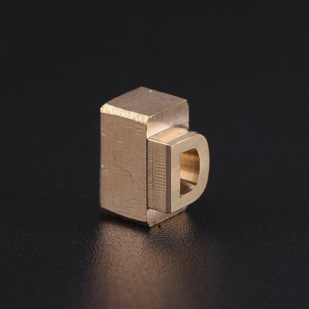 26 PCS//set Lettere maiuscole Timbri Set Artigianato in pelle fai da te per stampaggio di francobolli