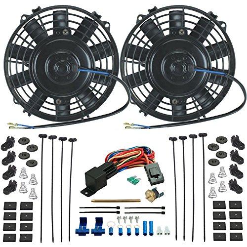7 inch radiator fan - 8
