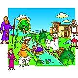 Beginners Bible - Moses Flannelboard Figures - Pre-Cut