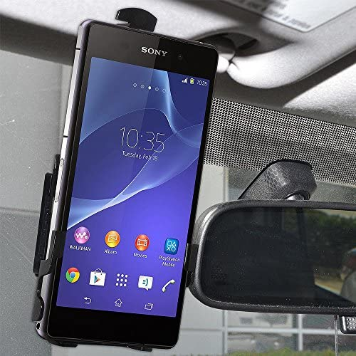 Retail Packaging Black AMZ96992 Amzer Anywhere Magnetic Vehicle//Indoor//Outdoor Mount Holder for Sony Xperia Z2
