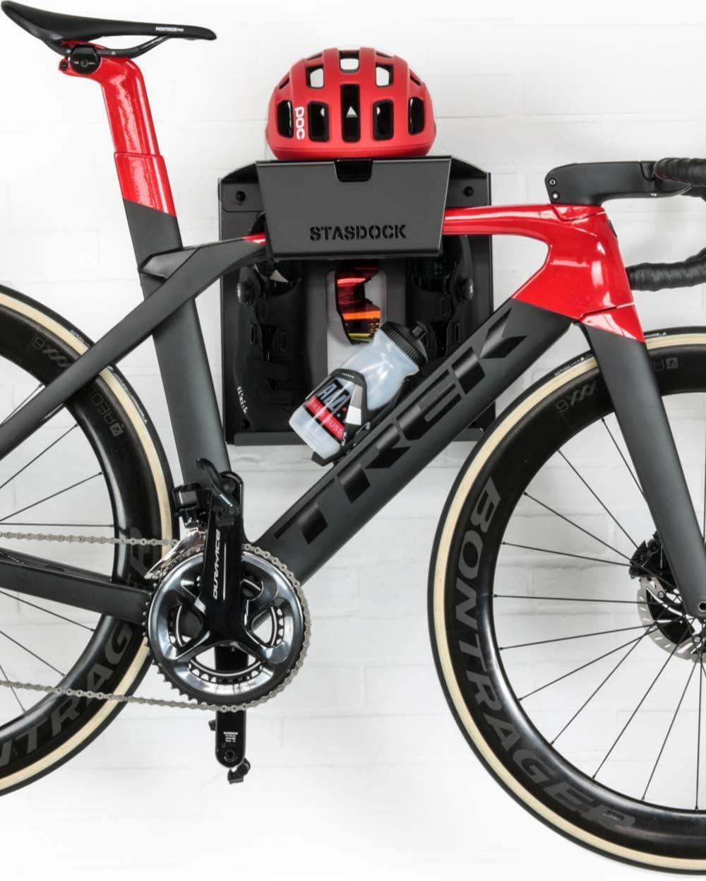 Stasdock Almacenamiento de bicicletas - elegante soporte de pared ...
