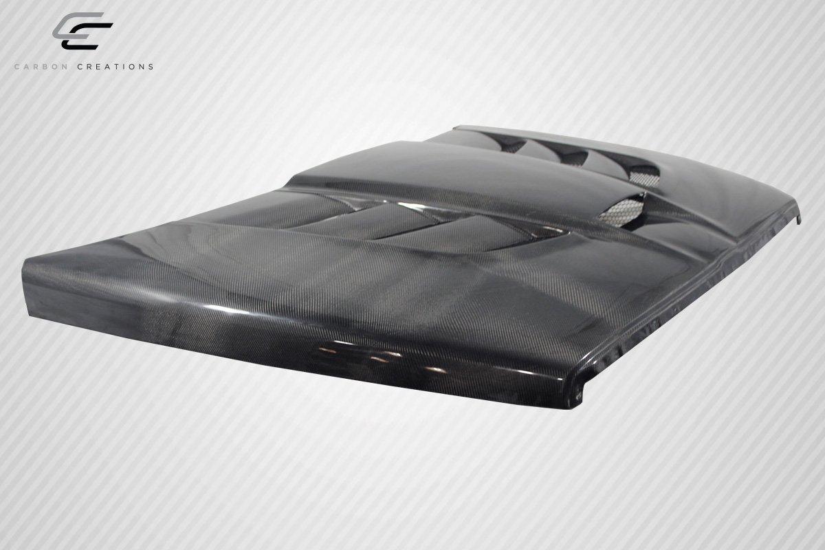 1 Piece Body Kit Fits Dodge Ram 1994-2001 Carbon Creations ED-MQJ-034 DriTech Viper Look Hood