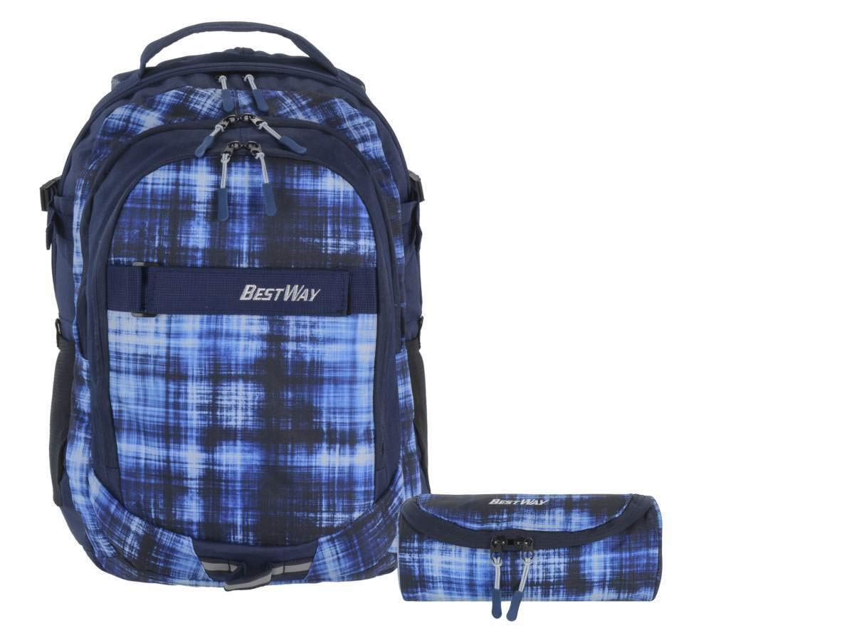 ventas en linea OUM-SET - Set Set Set de útiles Escolares Azul Azul außen  ca. 33,0 x 48,0 x 19,0 cm  respuestas rápidas