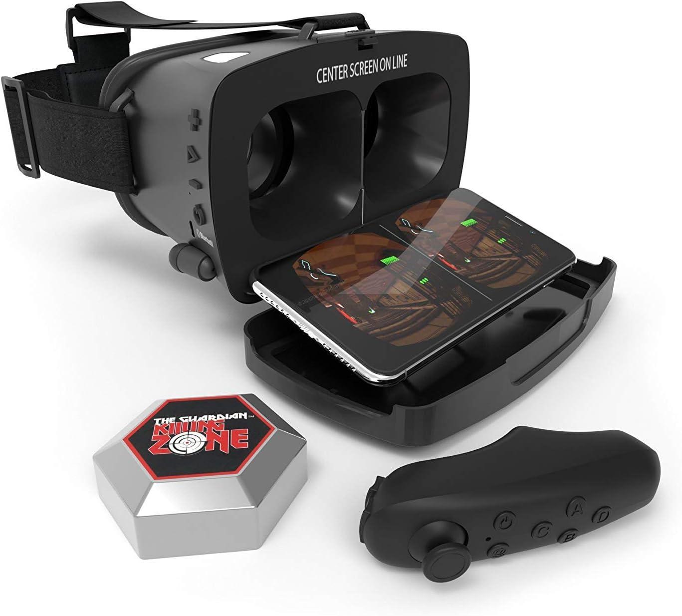 Tzumi Dream Vision PRO Virtual Reality Smartphone Headset Black ~ NEW in BOX