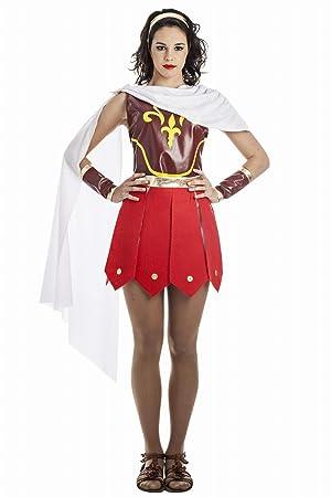 Disfraz de Guerrera Romana Talla XL: Amazon.es: Juguetes y juegos