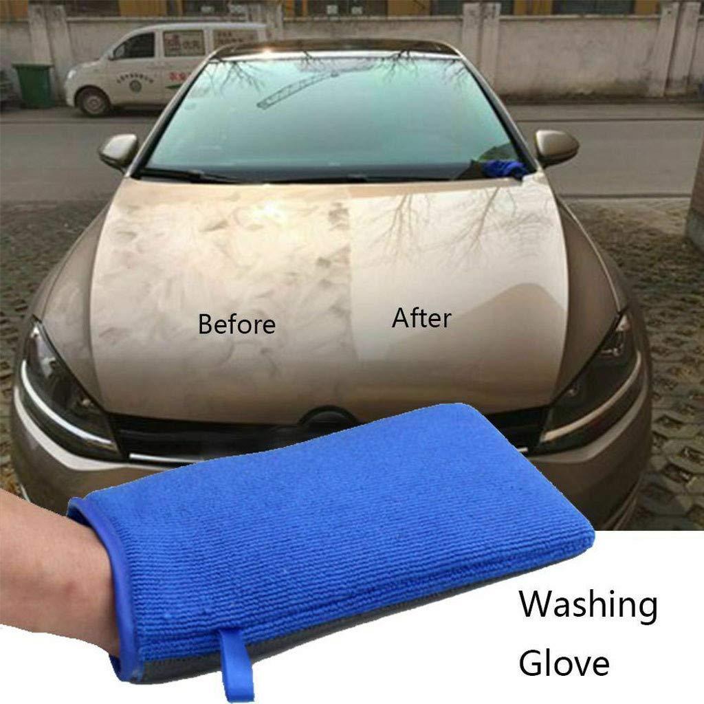 DDLmax Car Wash Magic Clay Mitt Auto Care Cleaning Towel Microfiber Sponge Pad