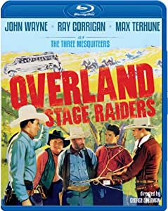 Overland Stage Raiders [Blu-ray]