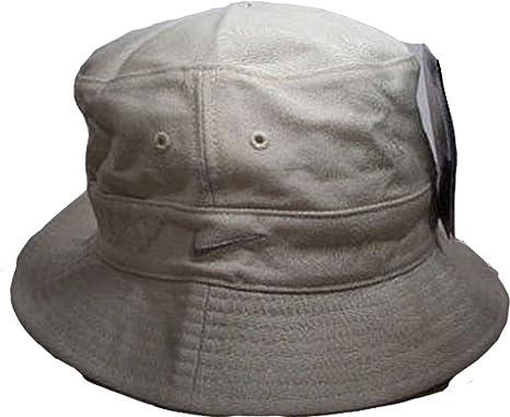 Nike sombrero sombrero Swoosh Beige/Crema 564791 – 223 tamaño small/medium 100% algodón: Amazon.es: Deportes y aire libre