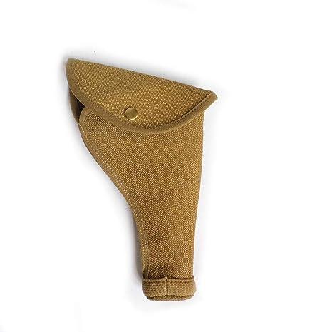 Amazon com : ANQIAO WW1 WW2 WWII British UK Pistol 1937 Holster Flax