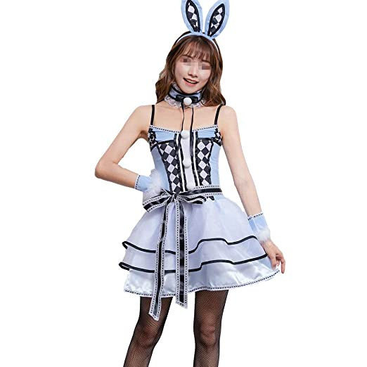 Belingeya-toy Disfraz de Disfraces inflables Halloween Plaid Bunny ...