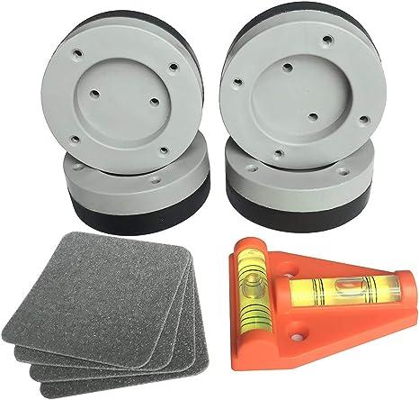 Amortiguador de Vibraciones Pad para Lavadora y Secadora Pies 4 ...