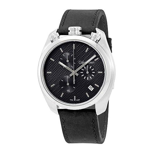 Calvin klein - Substantial k6z371 c4 señor cronógrafo swiss made: Amazon.es: Relojes