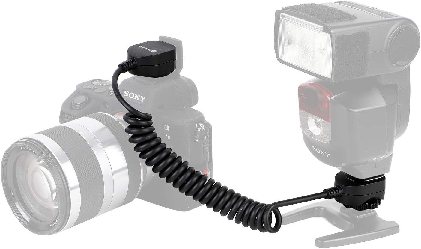 Easy Hood 1.6ft TTL Off-Camera Flash Speedlite Sync Cord for Sony Alpha A9 II A7R IV A7 A7R A7S A7II A7III A7RII A7RIII A7SII A6600 A6100 A6500 A6400 A6300 Camera with Multi Interface MI Shoe