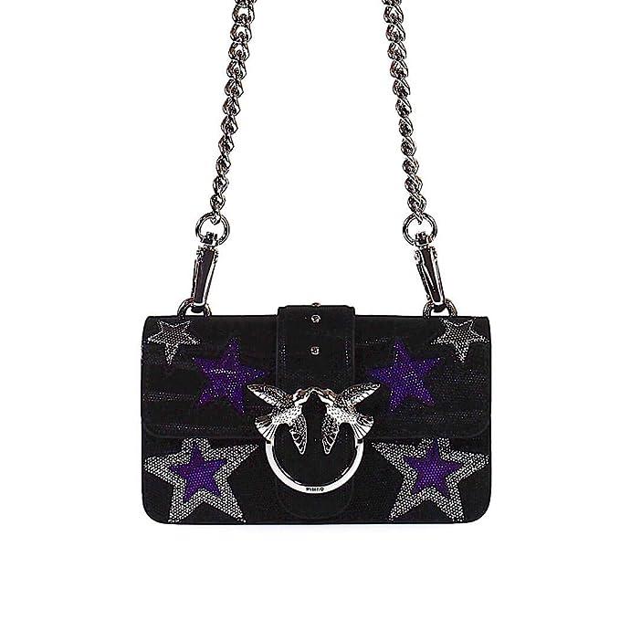 00f5d8ddff Pinko Accessori da Donna Borsa Mini Love Bag Stars Nero Autunno ...