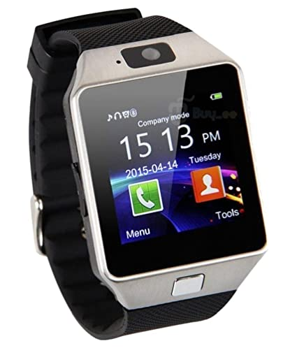 6389ca8b35bad6 Meya Happy DZ 09 Unisex Bluetooth 4g Smart Watch Featuring Social Media/4G  Sim/Touchscreen/Built-in Camera for Android/iOS Phones(Green): Amazon.in:  ...