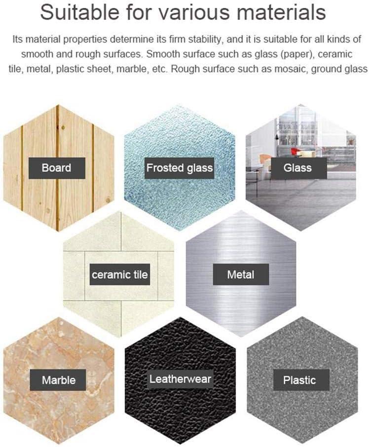 1 M INTVN 2pcs Cinta Doble Cara,Nano-no Rastro Lavable Doble Cara Transparente Adhesivo,Doblecara Cintadoble Cara