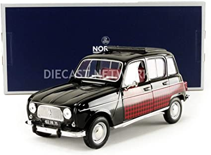 NOREV Rallye 1:64 Renault 4 gelb