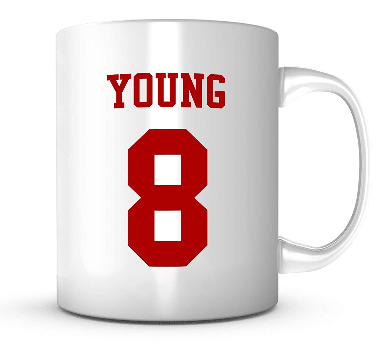 purchase cheap 0b519 aa62b Steve Young Mug - San Francisco Football Jersey Number ...