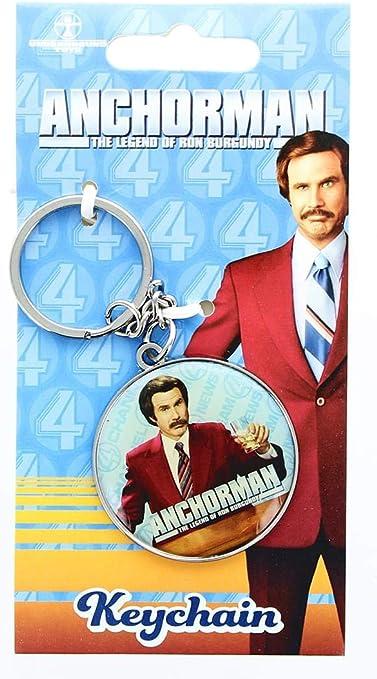 Anchorman The Legend of Ron Burgundy Keychain: Amazon.es ...