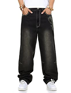 PY-BIGG Plus Size Mens Shorts Jeans Relaxed Fit Hip Hop Denim Shorts Work Short Stone Washed Black 30W-46W 13L