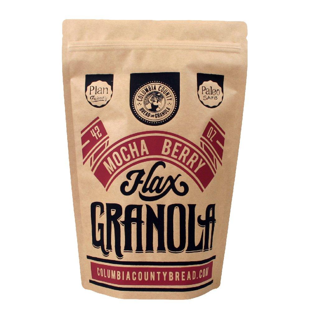 Flax Granola Bulk (Mocha Berry) by Columbia County Bread & Granola