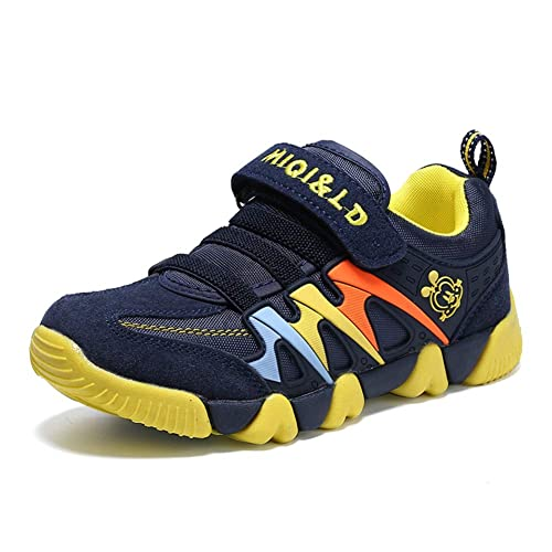 Moquite Niños Zapatillas de Baloncesto Al Aire Libre Calzado Deportivo Moda Lace Up Sneaker Ligeros Zapatos para Correr Antideslizante Zapatillas de Deporte ...