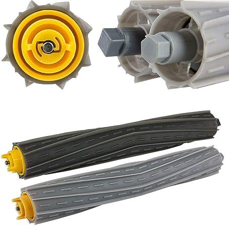 Compra PKA - Juego de Accesorios para Robot de Barrido para IRobot Roomba 800 866 876 900 CN Blanco y Negro en Amazon.es