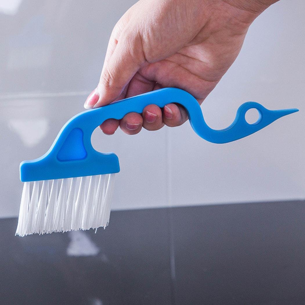 MALLOOM Set of 2 Window Track Kitchen Cleaning Brushes Tools Super Comfortable by MALLOOM (Image #4)