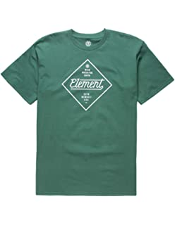 a3607628e77a Amazon.com: Element Men's Logo T-Shirt Solid Colors: Clothing