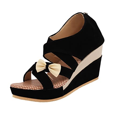 ec08476a1457 ABJ Fashion Women s Suede Sandals  Buy Online at Low Prices in India ...