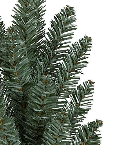 Balsam Hill Classic Blue Spruce Artificial Christmas Tree, 6.5 Feet, Clear Lights