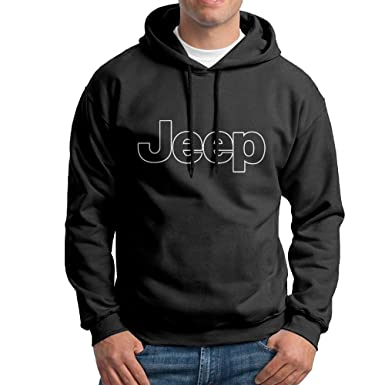 c9609db25882 SuperFF Men s Jeep Logo Hooded Sweatshirt at Amazon Men s Clothing store