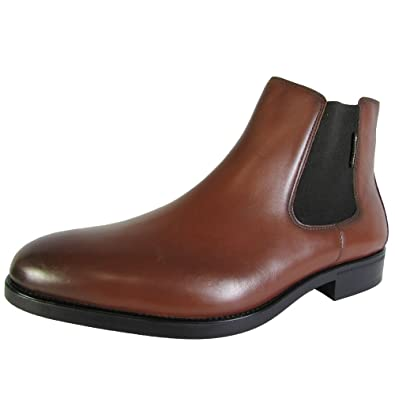 Mephisto Mens Colby Slip on Chelsea Ankle Boot Shoes, Chestnut Carnaby, US  11.5