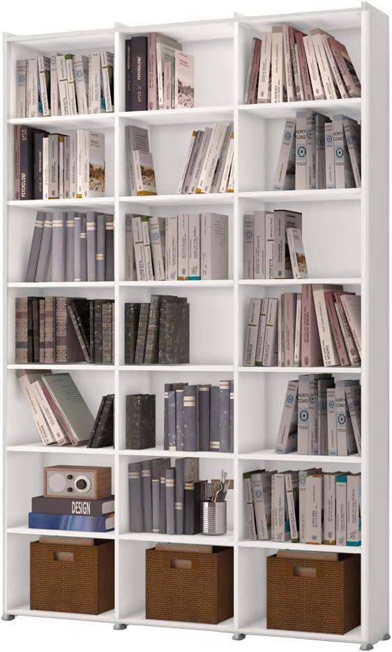 Estante para livros branca Montenegro