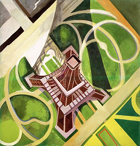 (Robert Delaunay Eiffel Tower and The Gardens of The Champ de Mars Hirshhorn Museum and Sculpture Garden - Washington DC 30