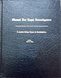 Manual for Legal Investigators, Rose, John R., 1881170055