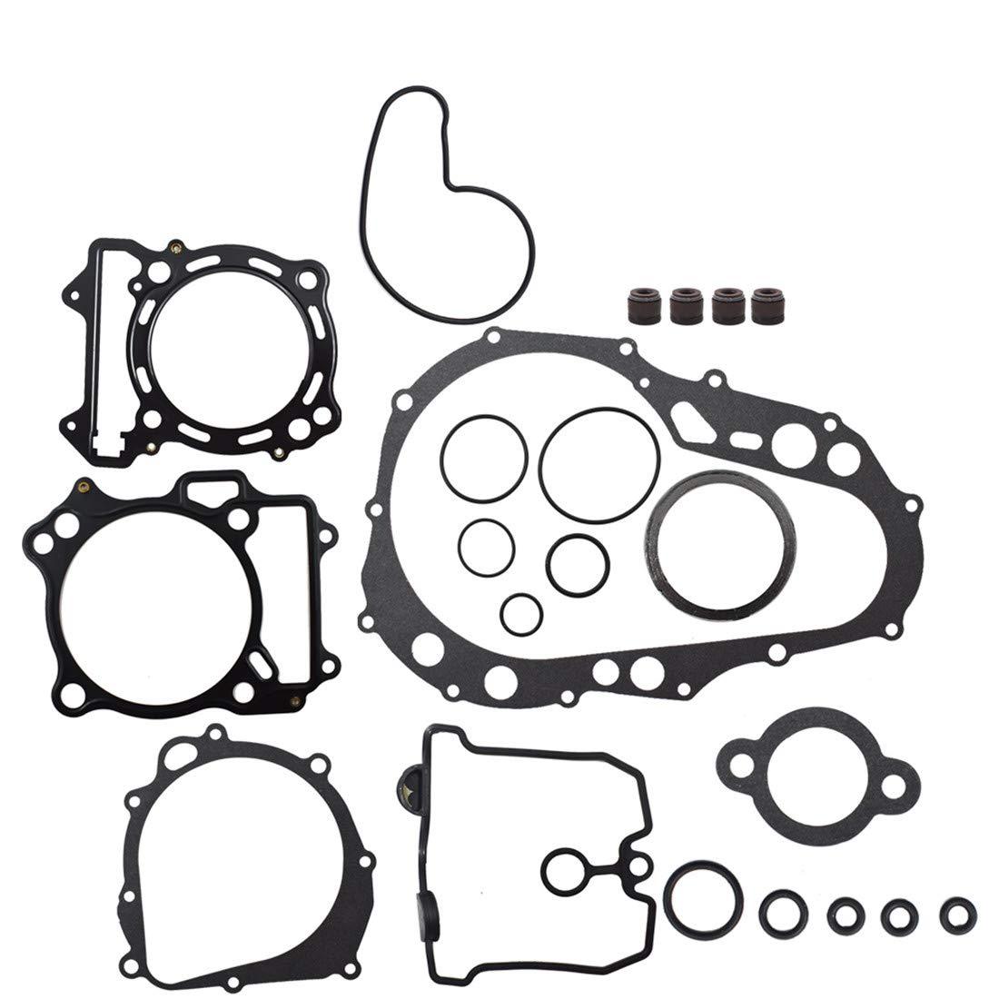 WFLNHB Complete Gasket Kit Set Top /& Bottom End for 2003-2008 Suzuki Quadsport Z400 LTZ400