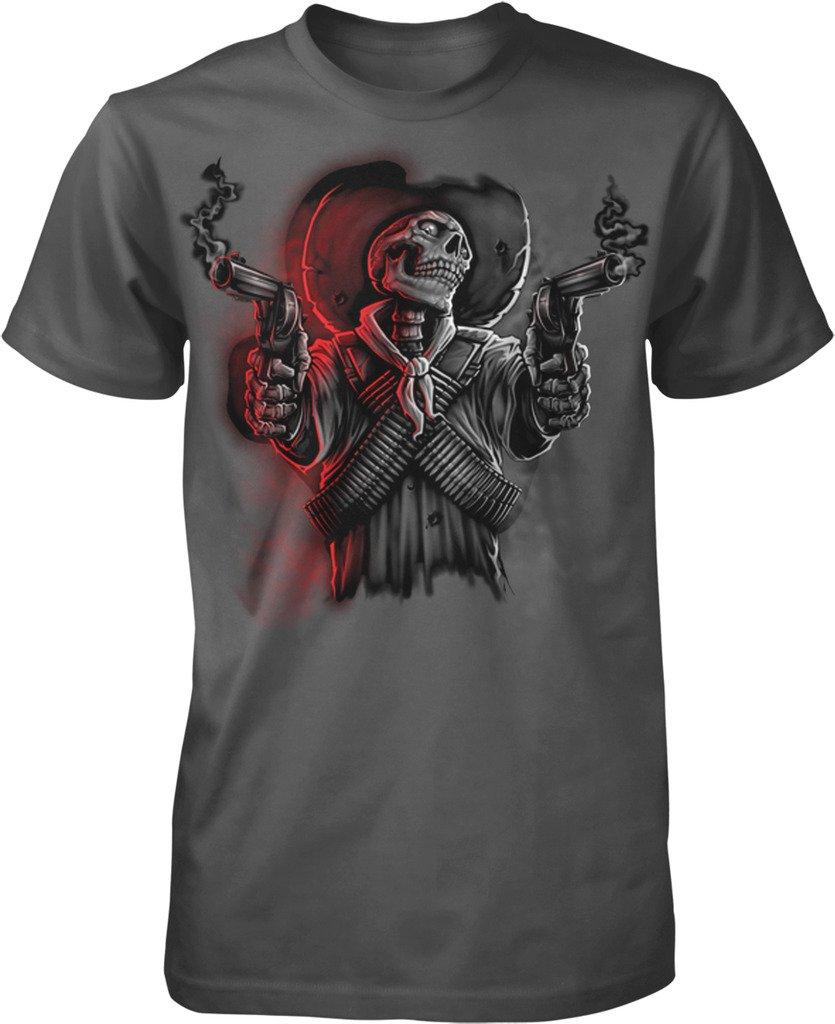 Skeleton Cowboy Gunslinger S T Shirt