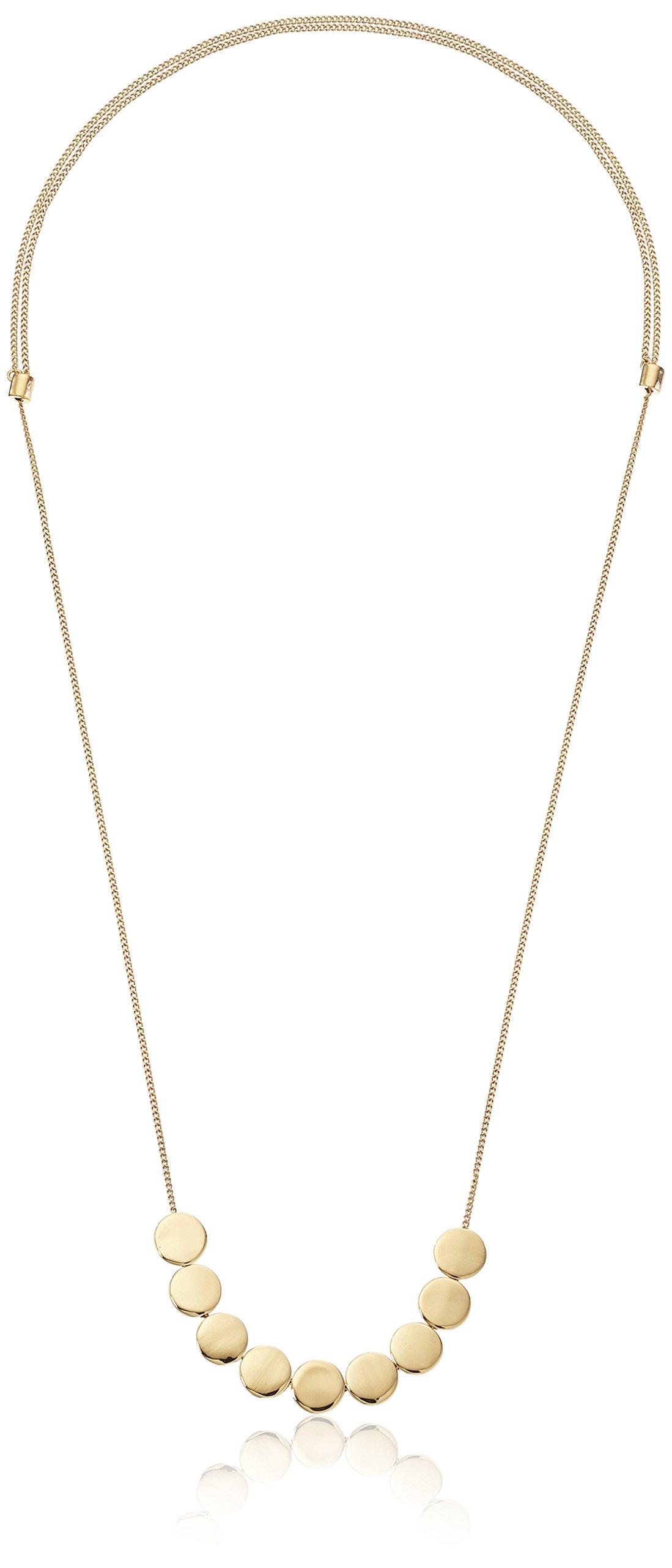 Diane von Furstenberg ''Summer Disco'' Circle Long Slider Necklace, 36''