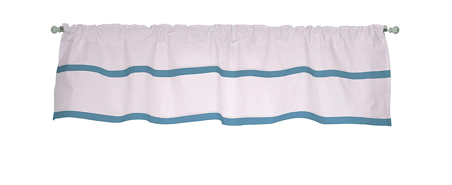 Baby Doll Medallion Window Valance Green Apple