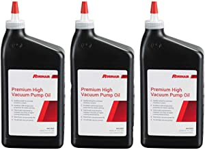 Robinair Premium High Viscosity Low Moisture Vacuum Pump Oil, Quart (3 Pack)