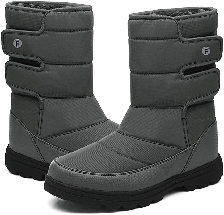 Womens Winter Warm Fleece Lined Waterproof Snow Ankle Boots Shoes Casual Booties