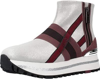 LIU JO Wonder Maxi 14 Sneakers Calzino Platform Grey BF0081PX056