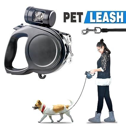 Amazon Com Didadi Automatic Retractable Dog Leash Extendable