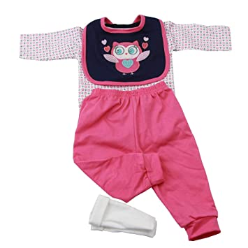 2bccea0d Homesave Reborn bebé Ropa para 55-57cm niña muñeca 4 Piezas Set algodón:  Amazon.com.mx: Deportes y Aire Libre