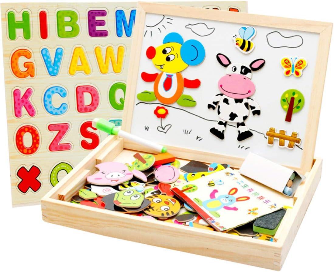 Regalo set-86pcs ABC Alfabeto imanes n/úmero Juguetes Pegatinas de Nevera Juguetes educativos para ni/ños Gutsbox N/úmeros y Letras magn/éticas